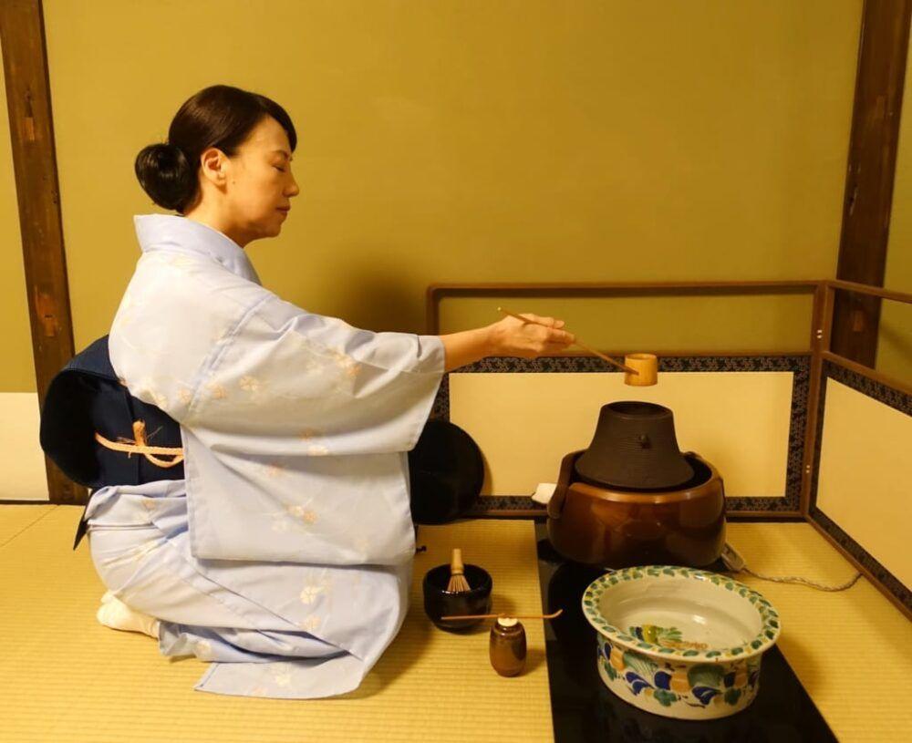 Expérience d'un service à thé traditionnel japonais