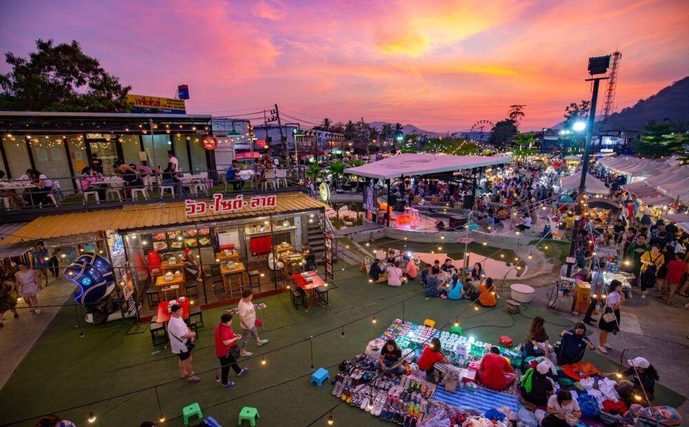 La foule à Phuket