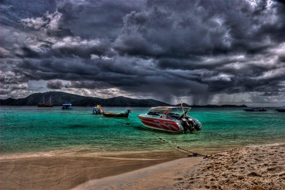 La saison des pluies à Koh Lanta