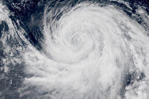 La saison des typhons en Chine en août