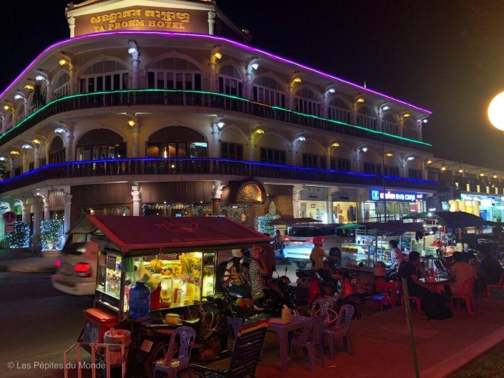 Où manger et boire Siem Reap
