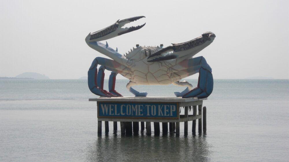 Prendre la Navette du Crabe à Kep