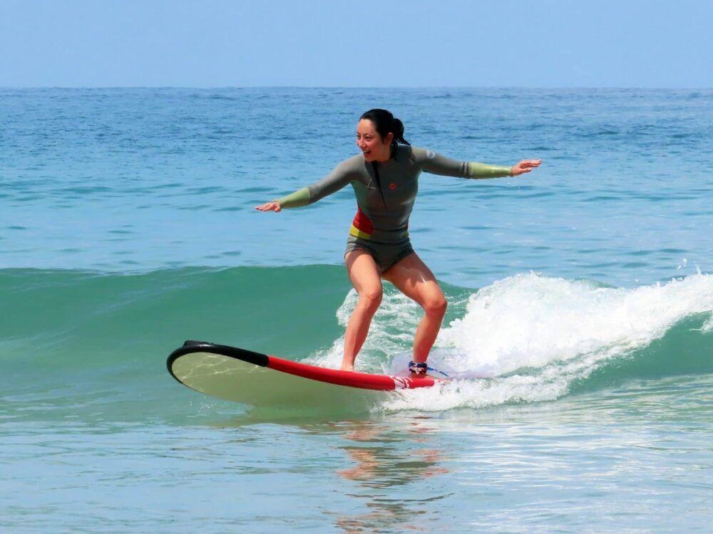 Prenez une planche de surf