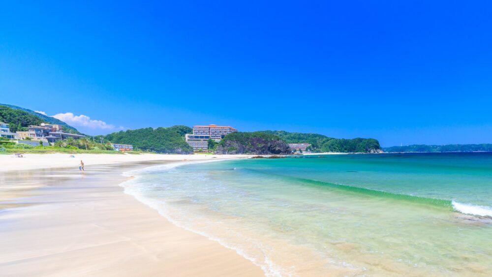 Shirahama Beach, Shimoda, Shizuoka