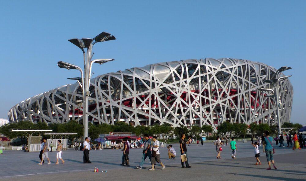 Stade national à Pékin