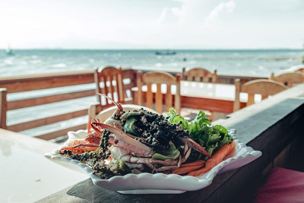 Suivez un cours de cuisine et mangez des fruits de mer frais
