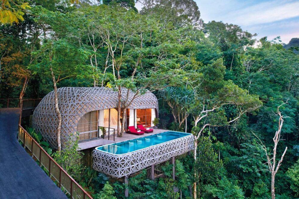 Tree Pool Houses at Keemala