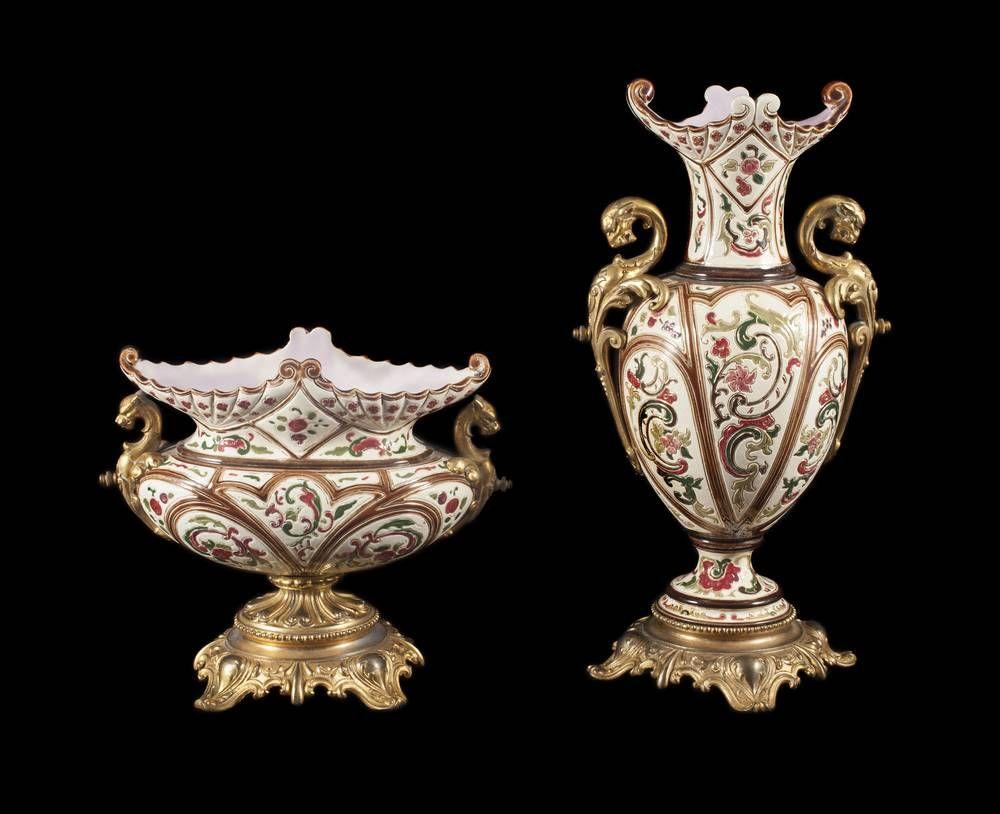 Vases Qing au Wynn