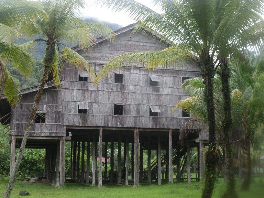 village culturel du Sarawak