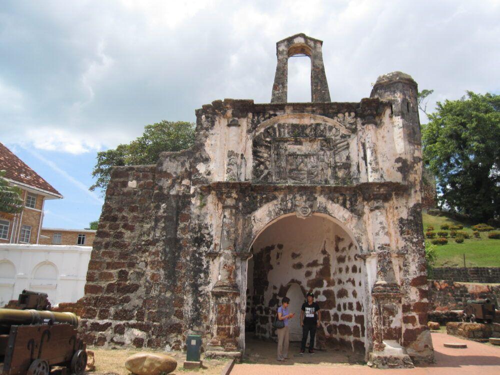 A Famosa et Porta de Santiago
