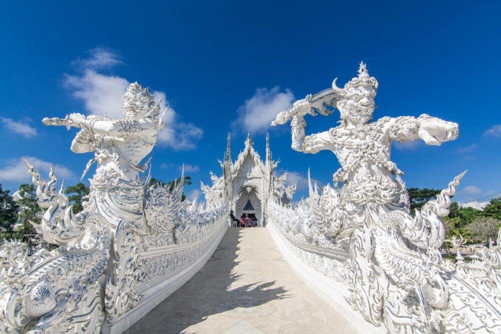 Après le Temple blanc