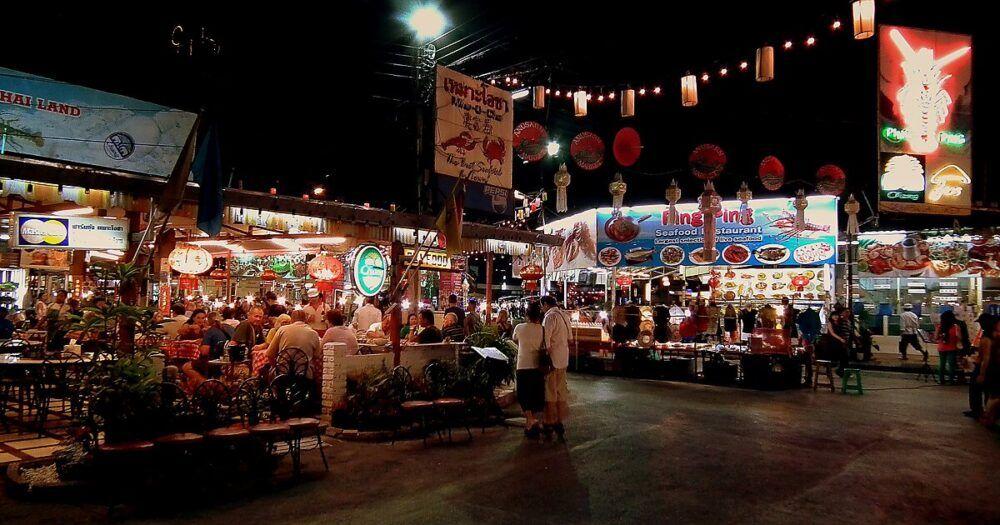 Bazar de nuit de Chiang Mai