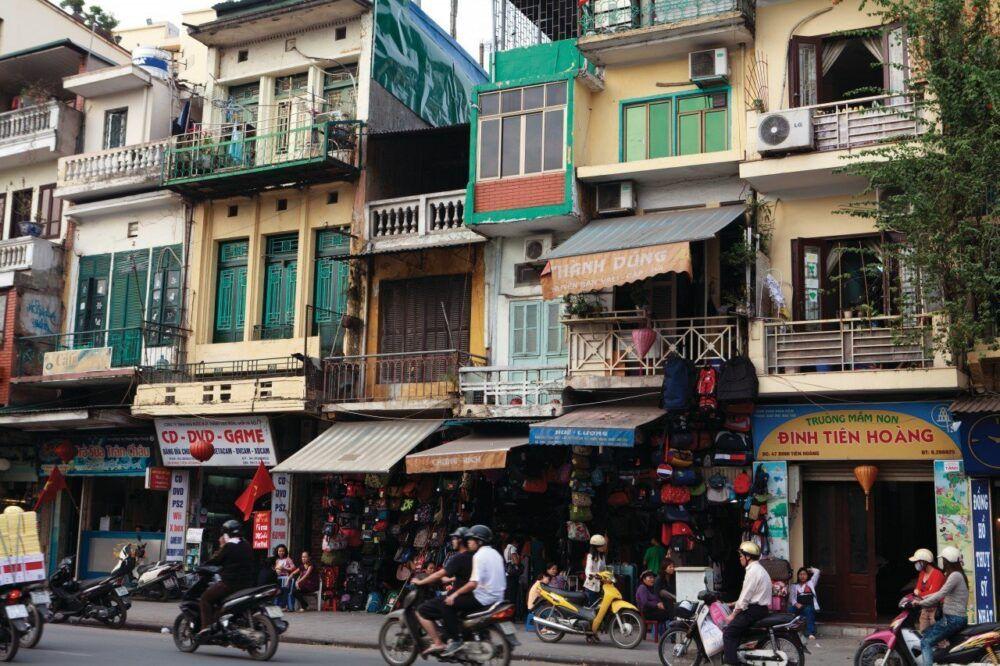 Boutique dans le Vieux Quartier de Hanoi