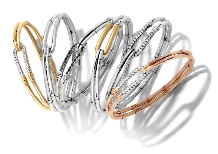 Bracelets en argent, marché de l'art d'Ubud