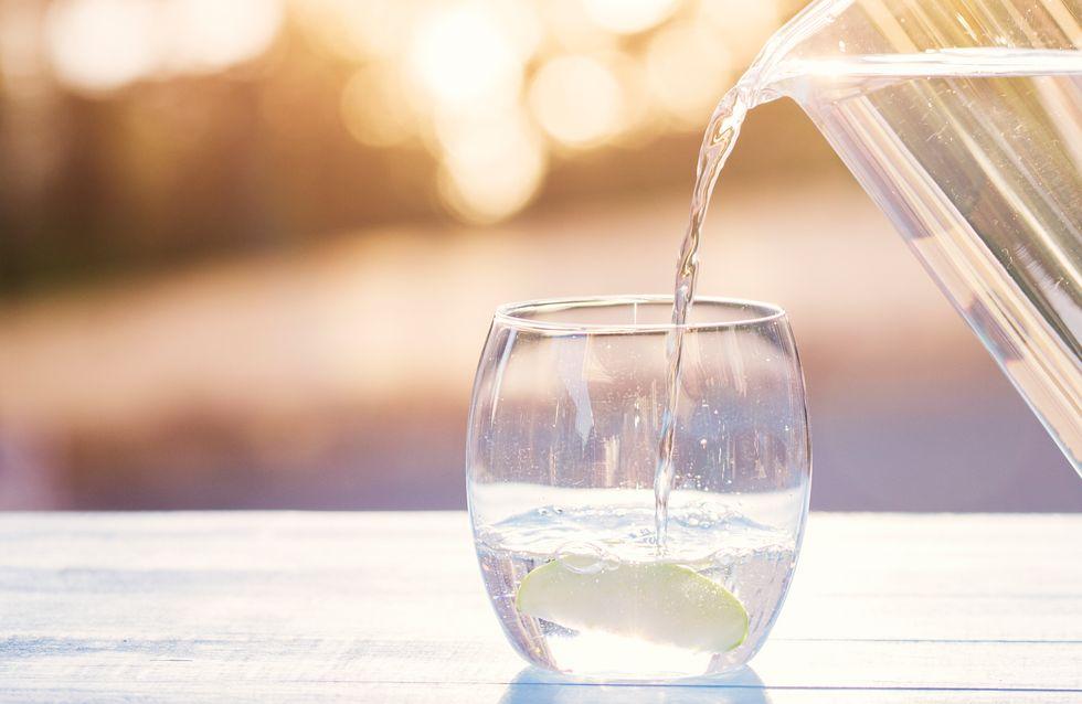 Buvez beaucoup d'eau mais ne buvez pas au robinet