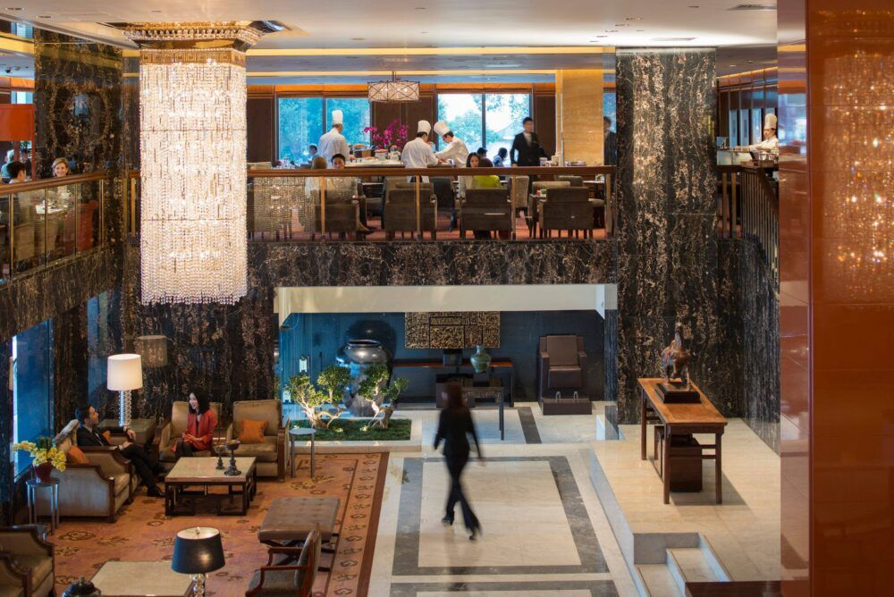 Clipper Lounge at the Mandarin Oriental
