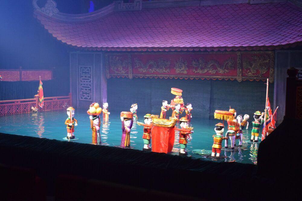 Comment fonctionnent les marionnettes d'eau vietnamiennes