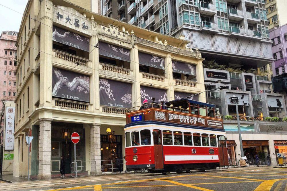 Comment prendre le tramway de Hong Kong
