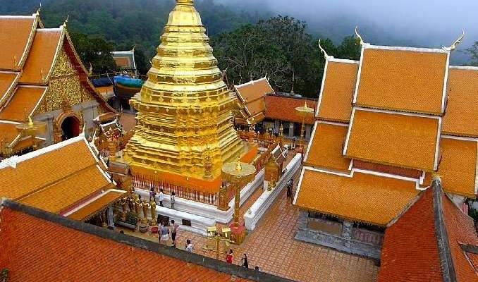 Dossier pour la visite d'un temple thaïlandais