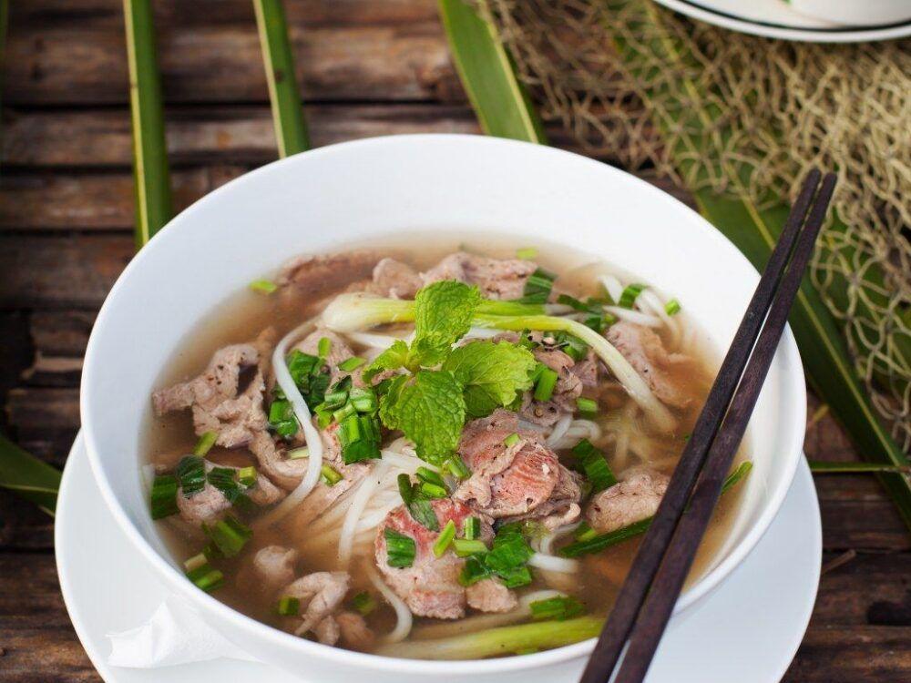 Essayez le pho vietnamien