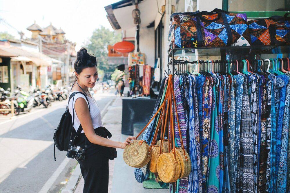 Faire du shopping à Ubud