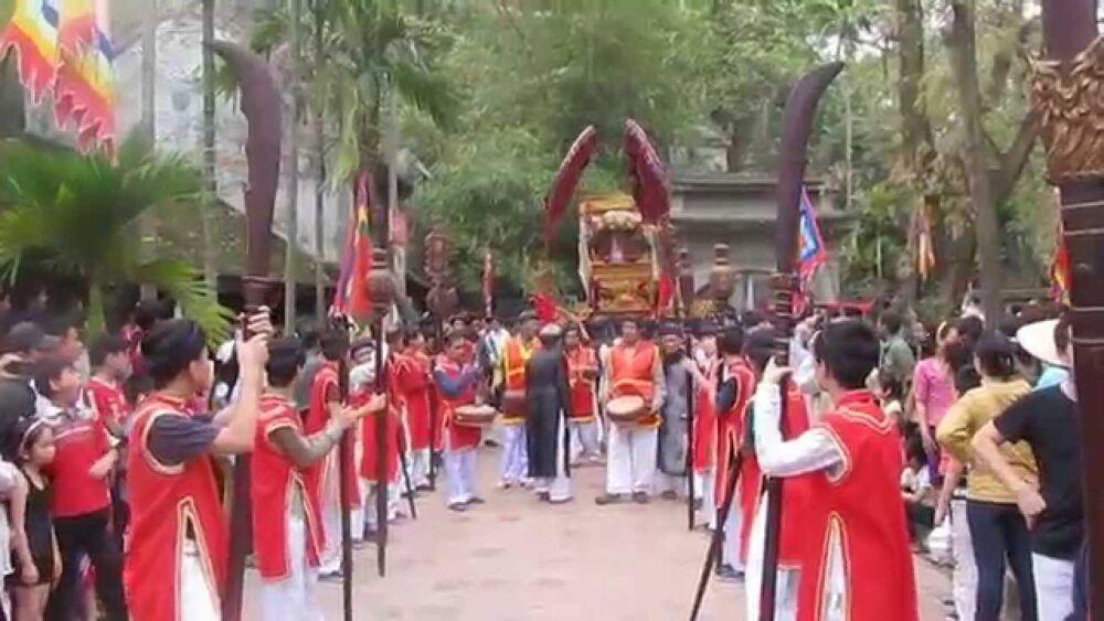 Festival de la pagode Thay