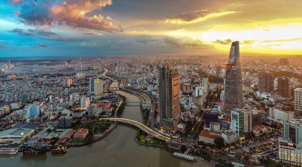 L'emplacement de Saigon