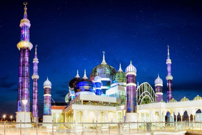 La Mosquée de cristal : Spécifications architecturales