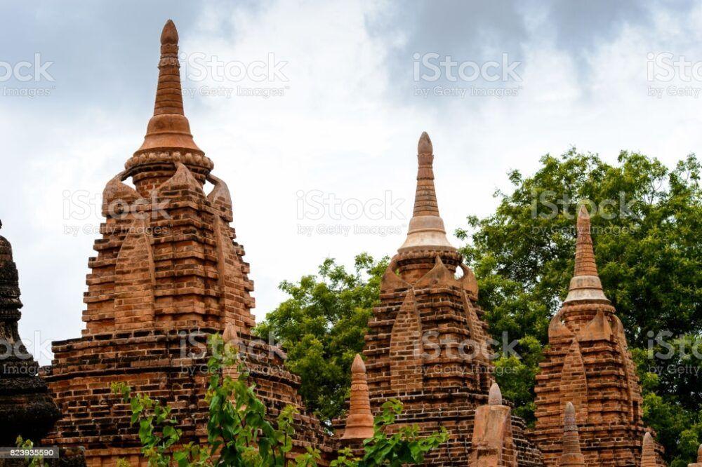 La zone de culte du temple