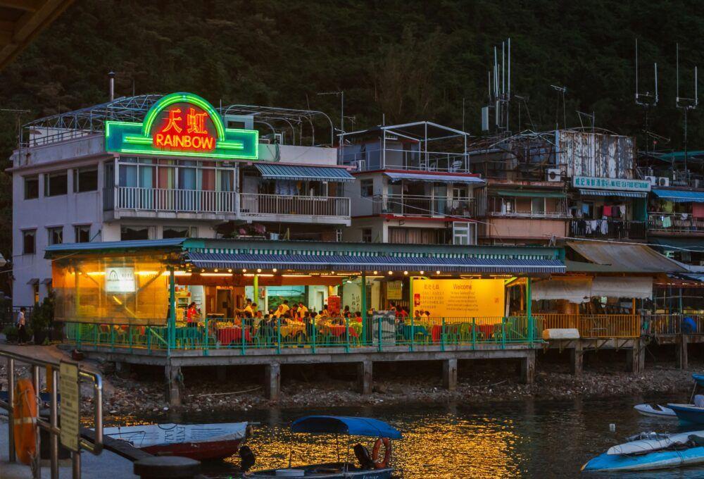 Une évasion sans voiture de Hong Kong sur l'île de Lamma 7