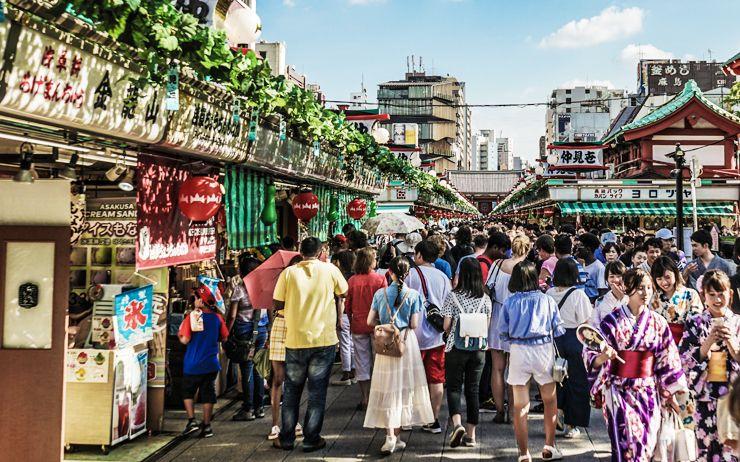 Le Japon a mis à jour son approche touristique