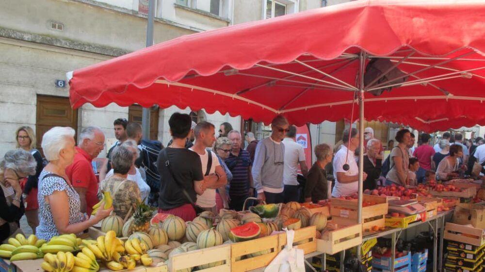 Le marché du samedi
