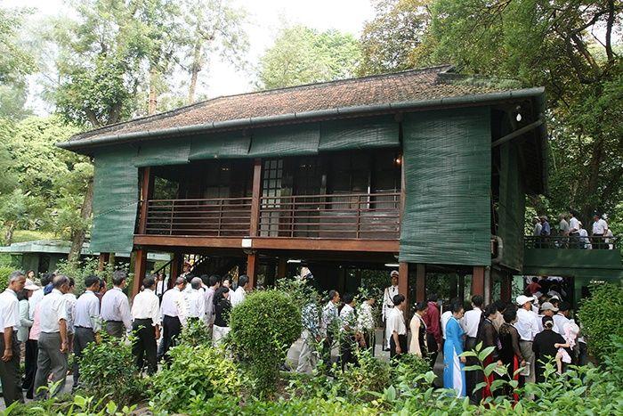 Maison sur pilotis Ho Chi Minh