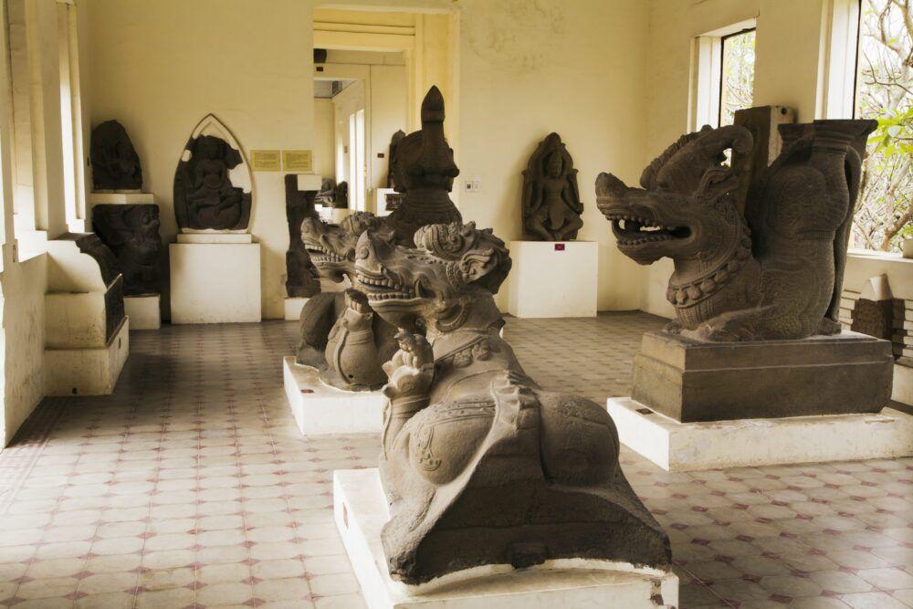 Musée de la sculpture Cham à Da Nang, Vietnam