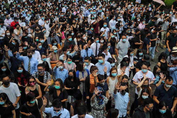 Octobre Événements à Hong Kong