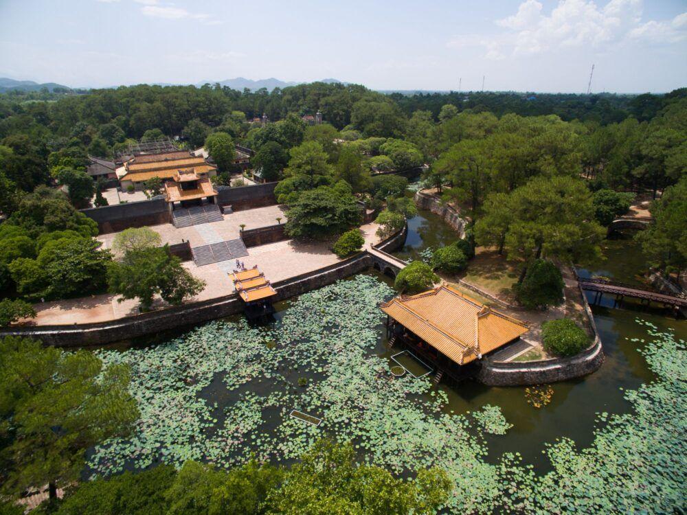 Pavillon Xung Khiem, Tombe royale Tu Duc
