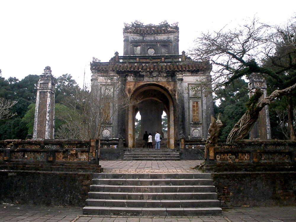 Pavillon de la stèle, Tombe royale de Tu Duc