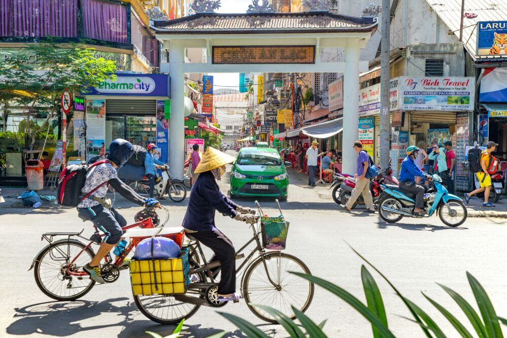A la découverte de Pham Ngu Lao à Saigon, au Vietnam 2