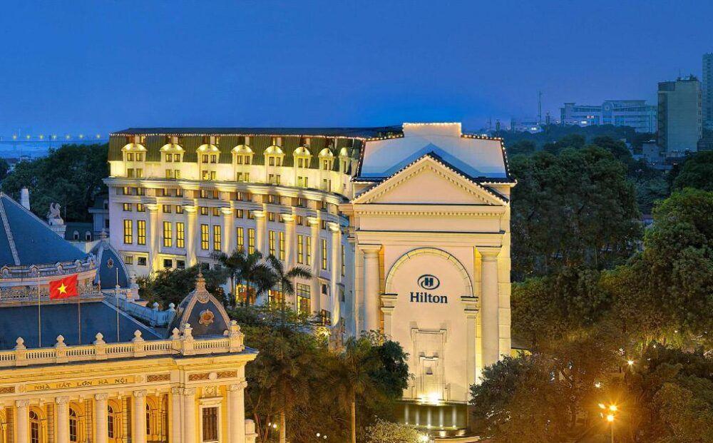 Pour se rendre au Hilton de Hanoi