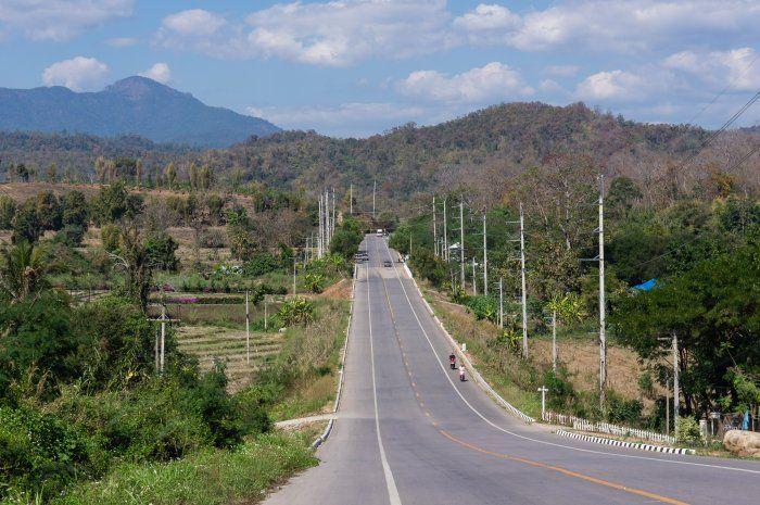Quelle est la route la plus pittoresque pour se rendre à Pai?