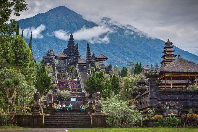 Région de Kintamani de Bali