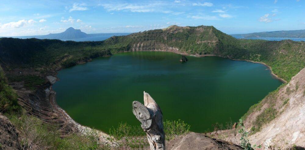 Se rafraîchir à Tagaytay et au lac Taal