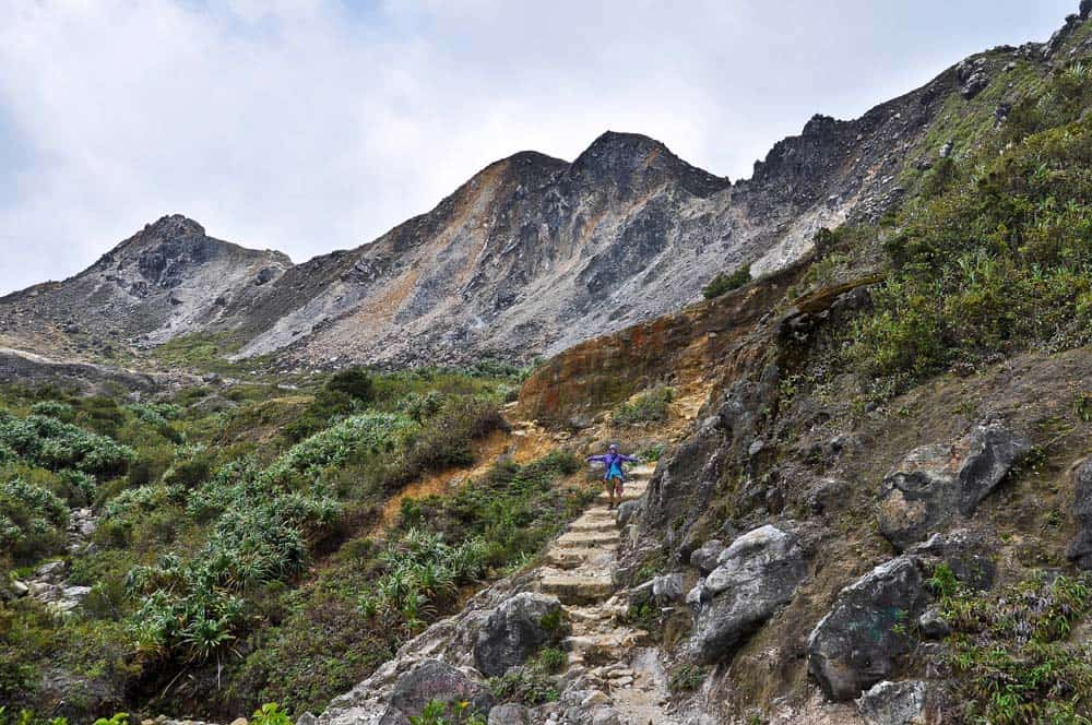 Se rendre au Gunung Sibayak