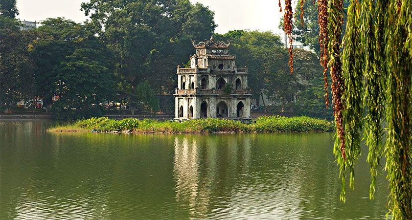 Se rendre au lac Hoan Kiem