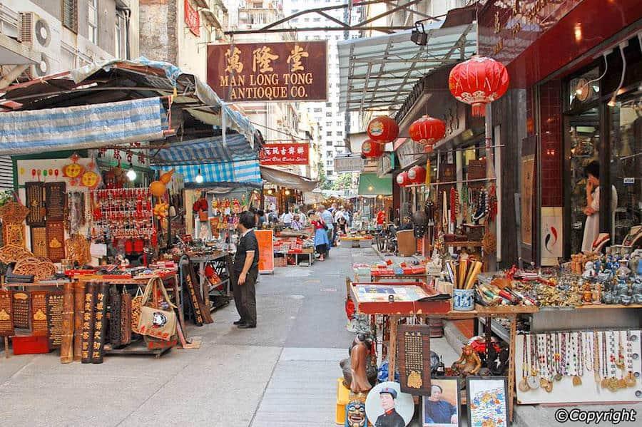 Shop Hollywood Road's Antique Shops