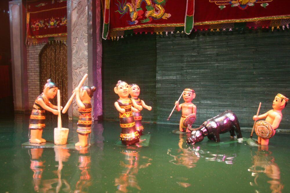 Spectacles de marionnettes aquatiques à Hue et Hoi An