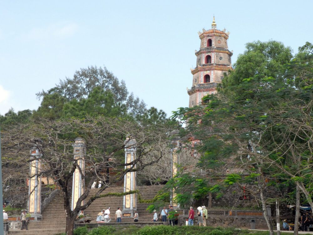 Stèles de pierre de la pagode de Thien Mu