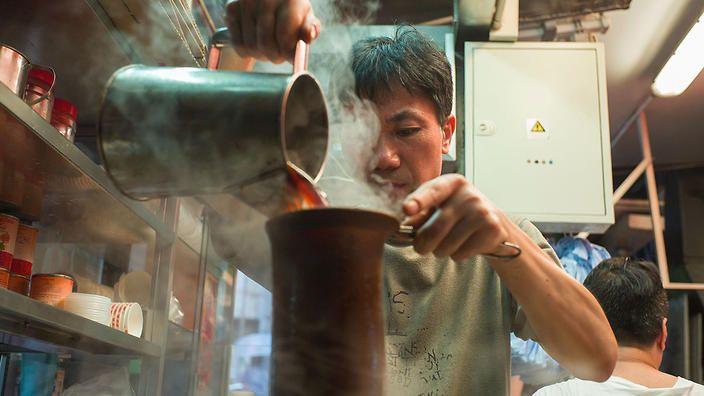 Stocking Milk Tea