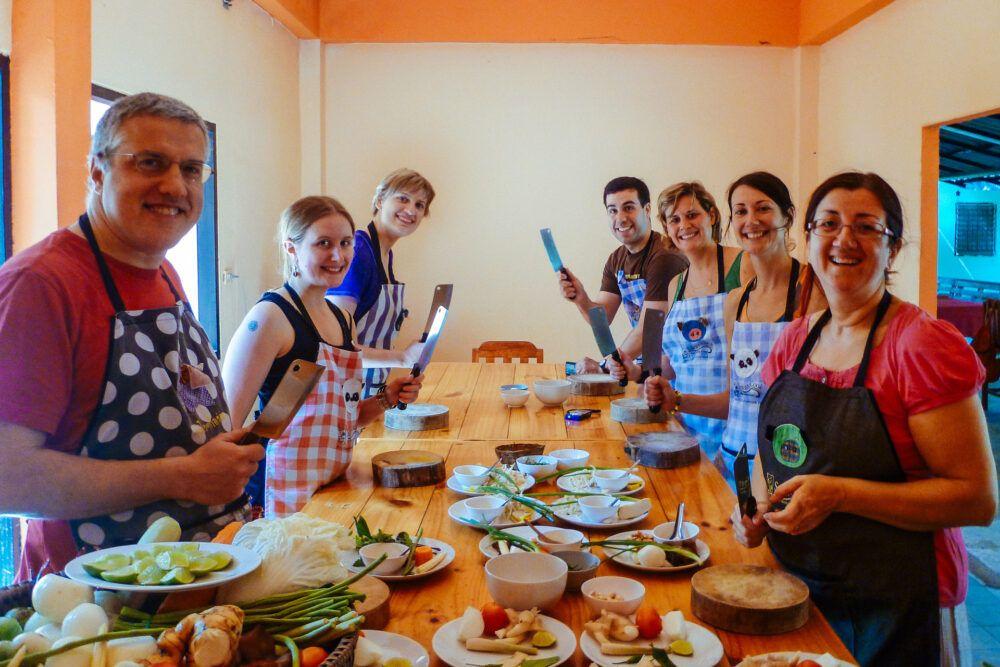 Suivez un cours de cuisine