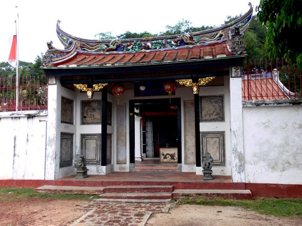 Temple de Poh San Teng et puits du Perigi Rajah
